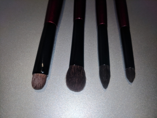 Left to right: Builder One, Worker One, Crease One and Pencil One.